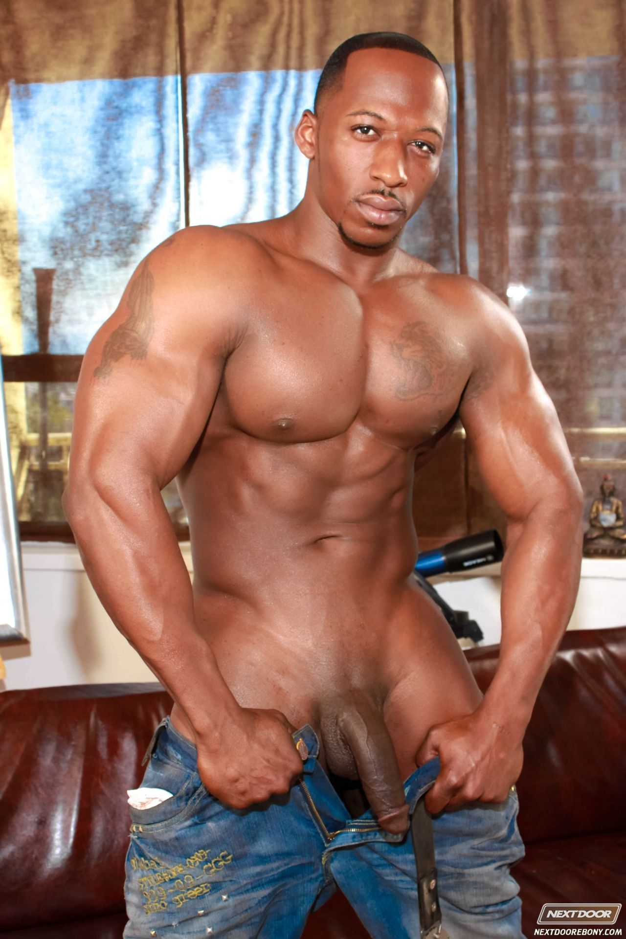 Black guy Big naked