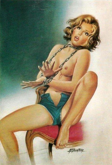 Princess P. reccomend Erotica pinup art