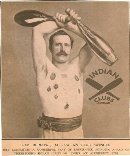 Indian club swinging dvd