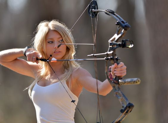 best of Bow and girls arrow Archery naked