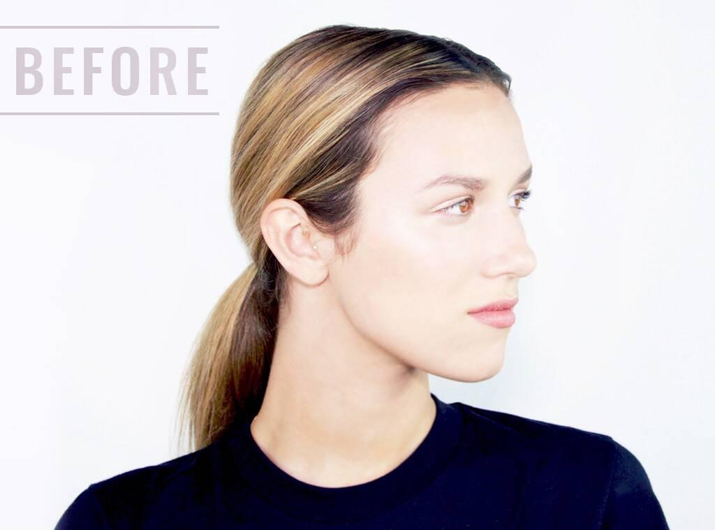 Female facial hair line