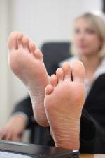Lick her feet cute