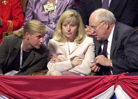 Mayhem reccomend Cheney daughter lesbian