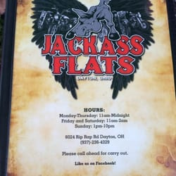 Chip S. reccomend Jack ass flats bar ohio