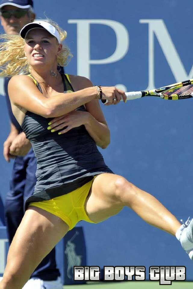 Taze reccomend Ladies tennis upskirt