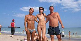 family nudist beach