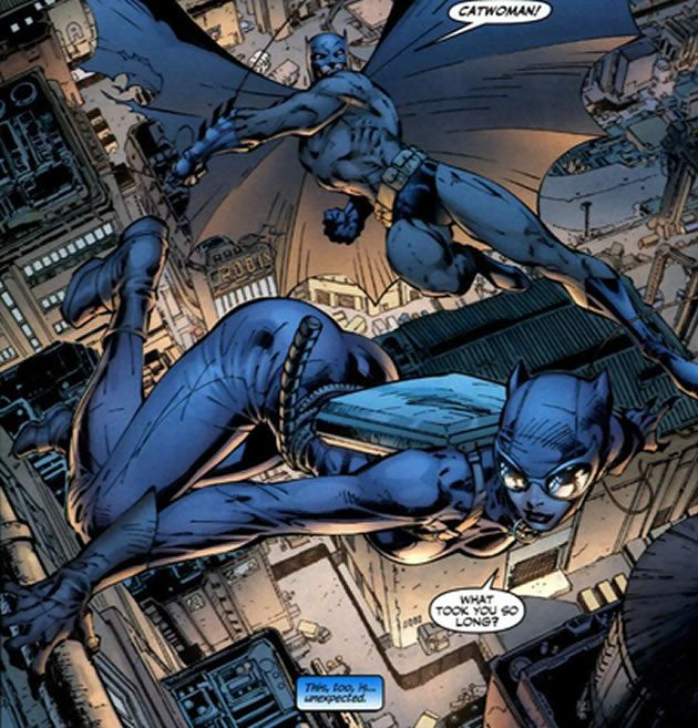 Batman and catwoman erotic stories