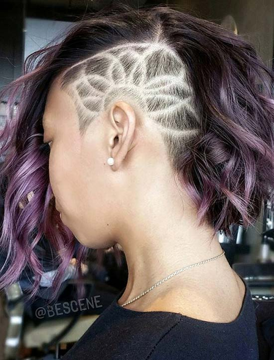 Wicked reccomend Designs on shaved head