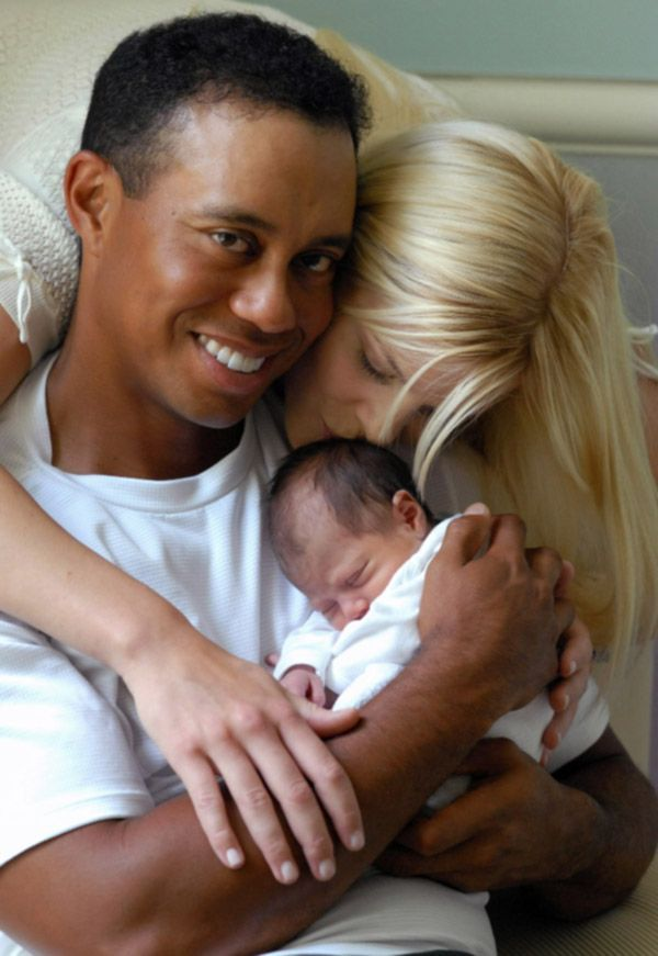 Tiger woods interracial