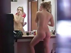 voyeur Showering teens