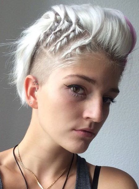Funnel C. reccomend Female hair head shaved style