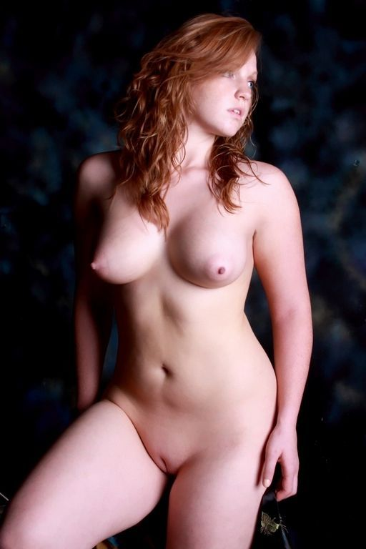 Redhead nude art
