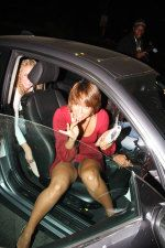 Get out of car upskirt pic