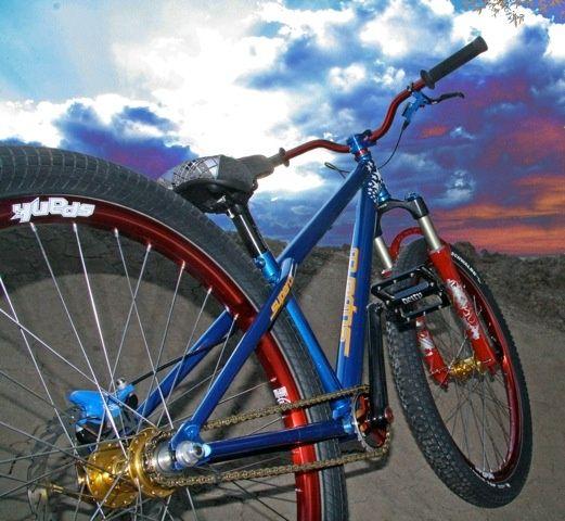 Spank bike components