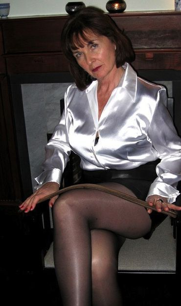 Mature lap ruler spank femdom older