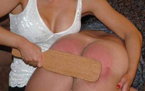 Spank my wives bottom well understand