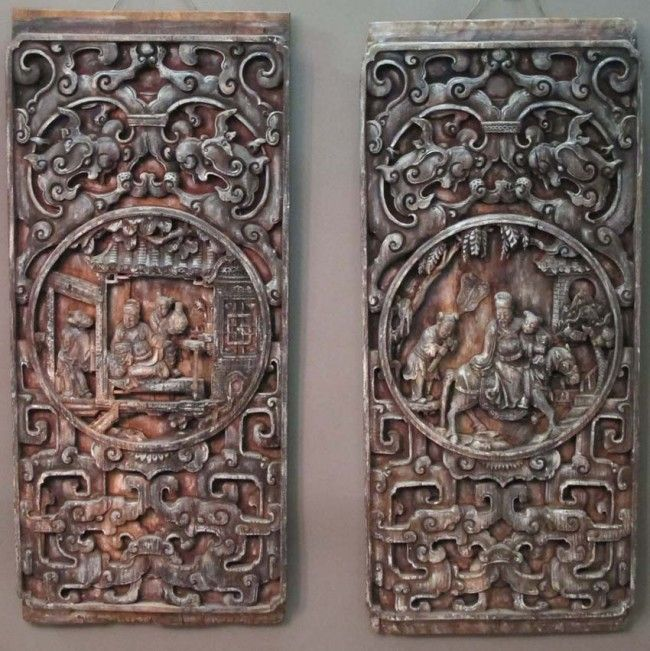 Blackbeard reccomend Asian carved panels