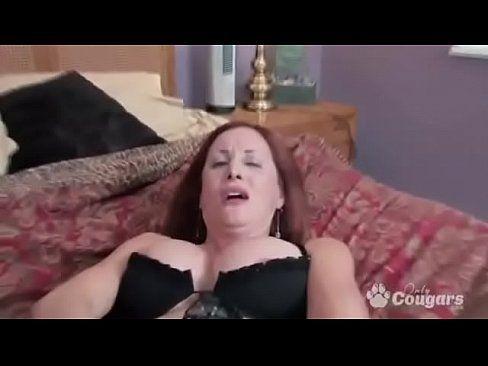 Redhead having an intense orgasm