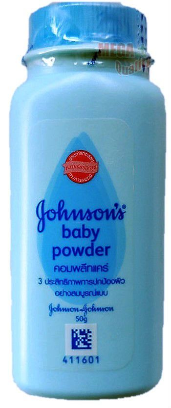 Baby powder massage erotic