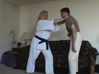 best of Femdom leather lezdom Karate arts martial