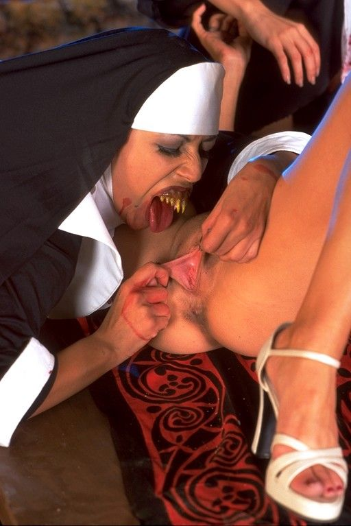 Nuns shaved in orgy you tried