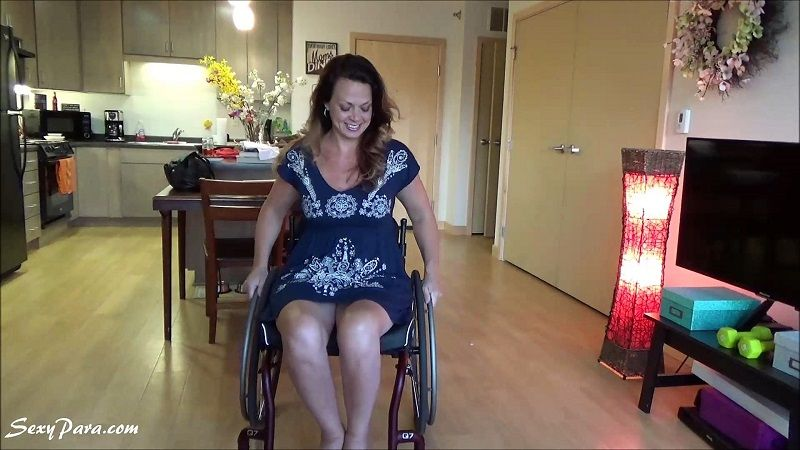 Female wheelchair pornstar video