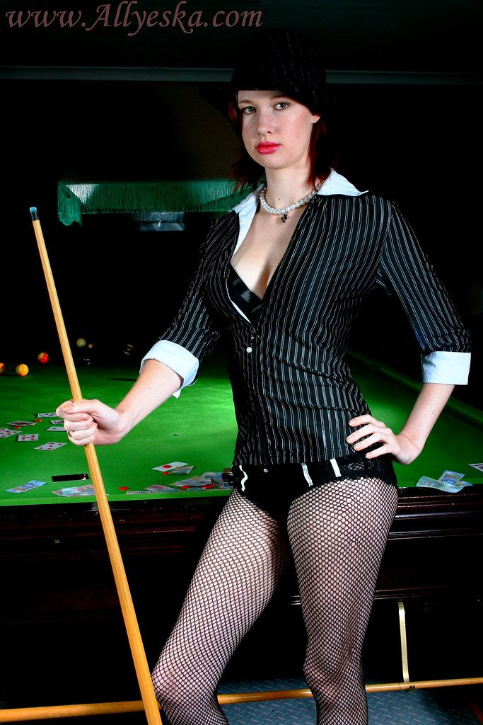Pooltables and pantyhose