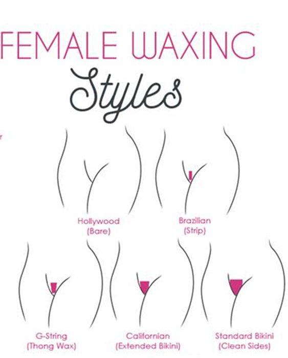 Blue E. reccomend Bikini waxing guides