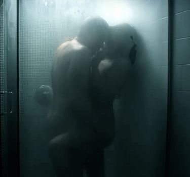 Hot steamy shower couples porn