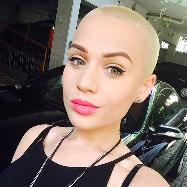 Alias reccomend Female hair head shaved style