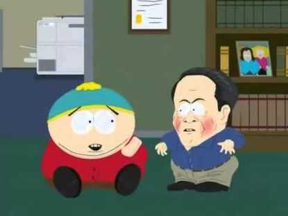 Cartman and midget