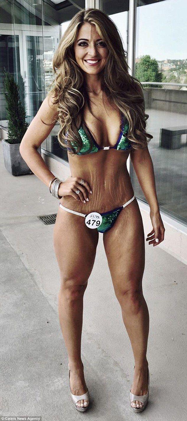 Bikini contest tiny