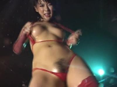 and dancers micro bikini Wet oily