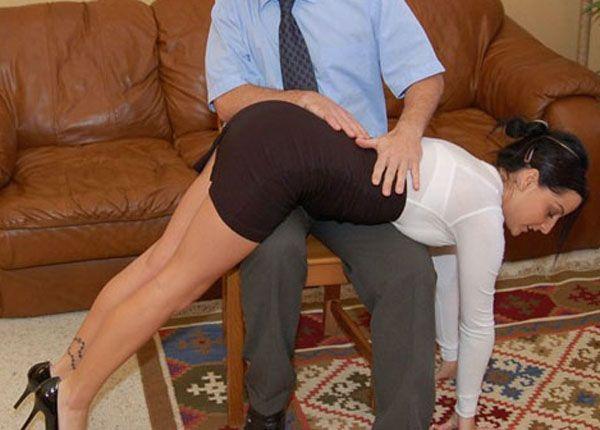 Secretary spank office sorry