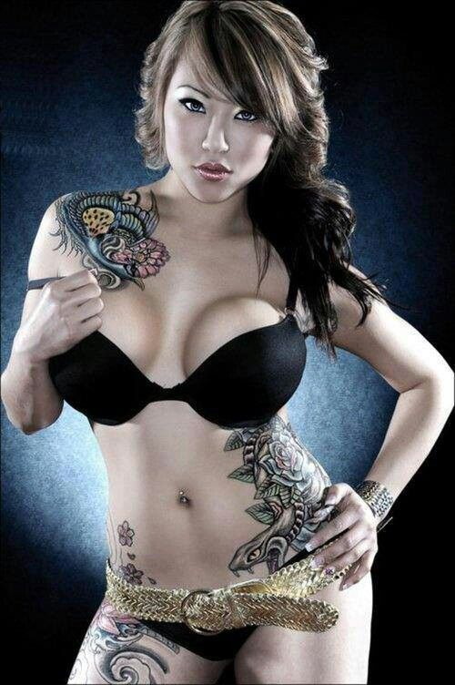 Tattoo asian erotic