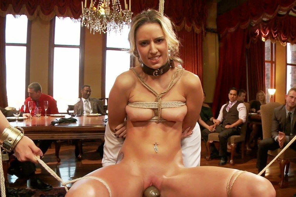 Bondage orgasms slave trade