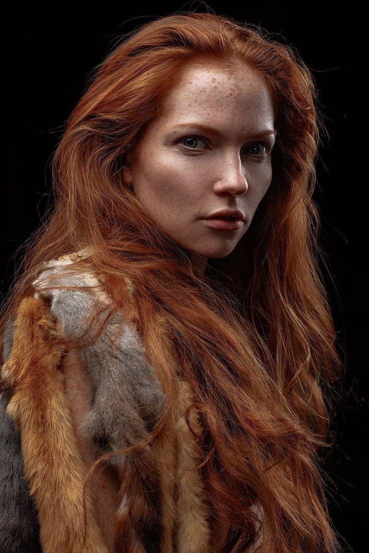 Scarlet haze redhead