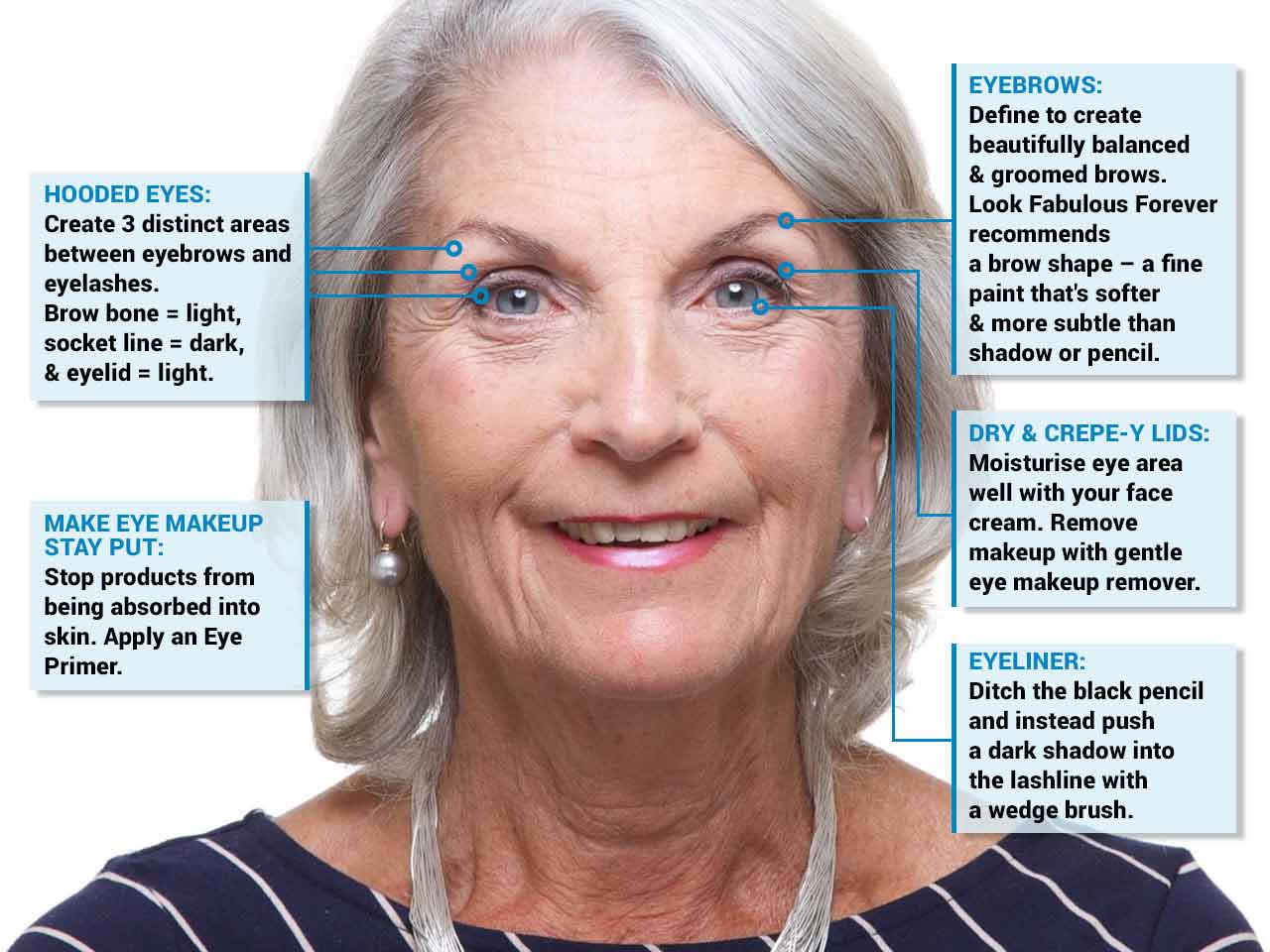 Makeup tips for mature