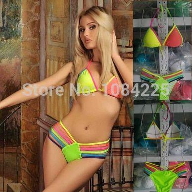 Russian yellow bikini