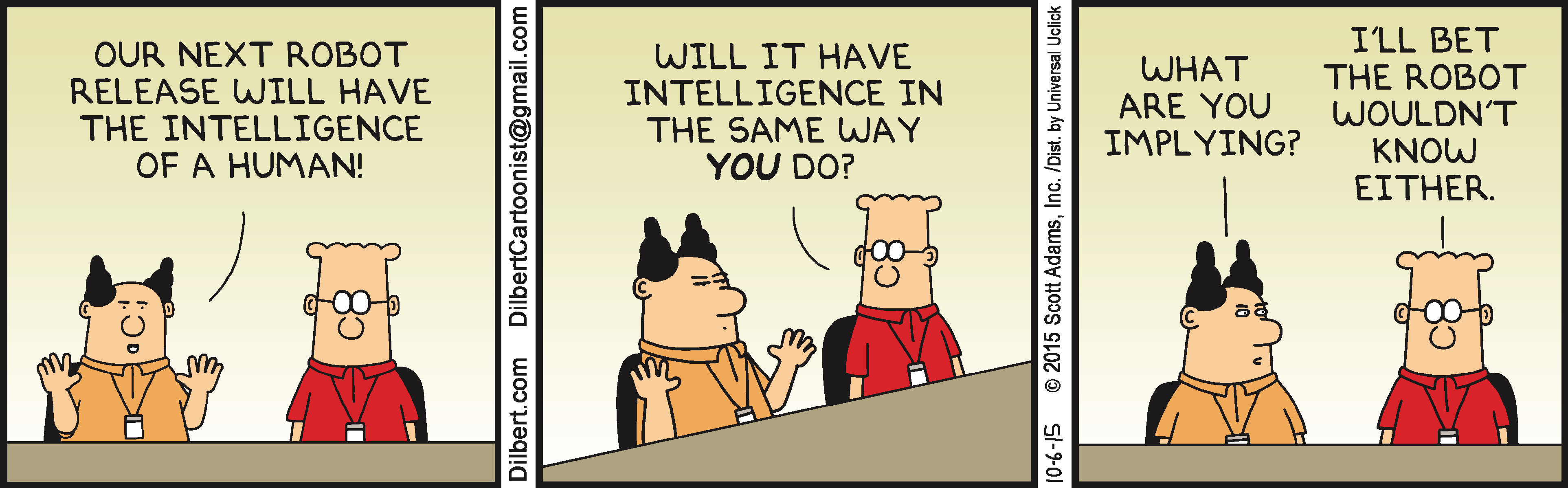 Dilbert daily strip