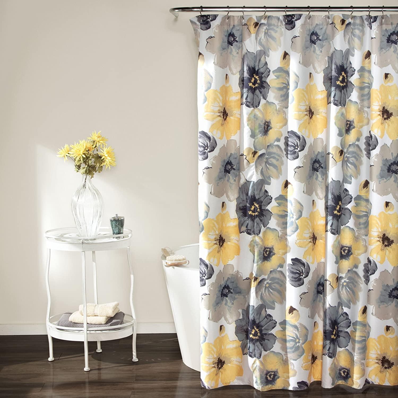 Popular bath asian lady shower curtain
