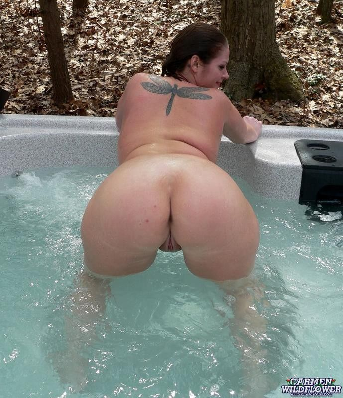 Milf Gangbanged In Hot Tub