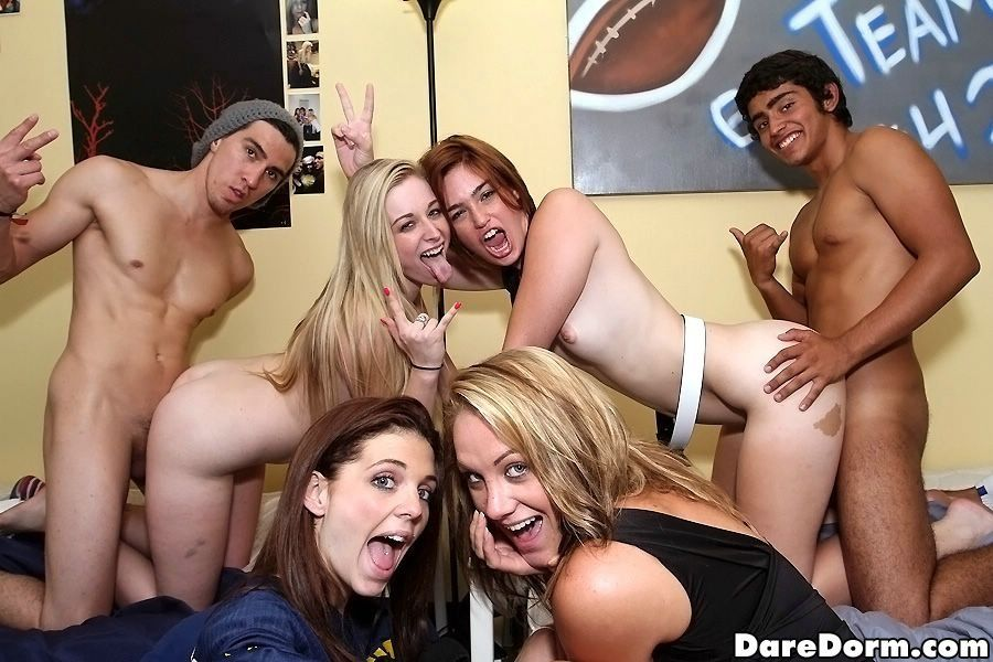Sorority party slut