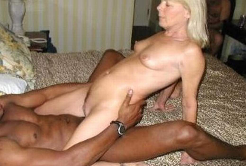 Interracial wife thumbs absolutely