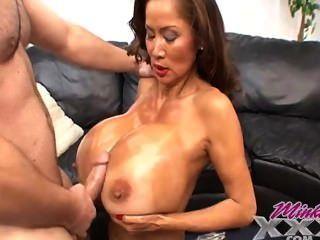 huge mom Boob