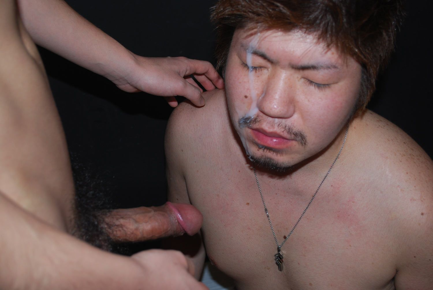 Free gay male facial porn