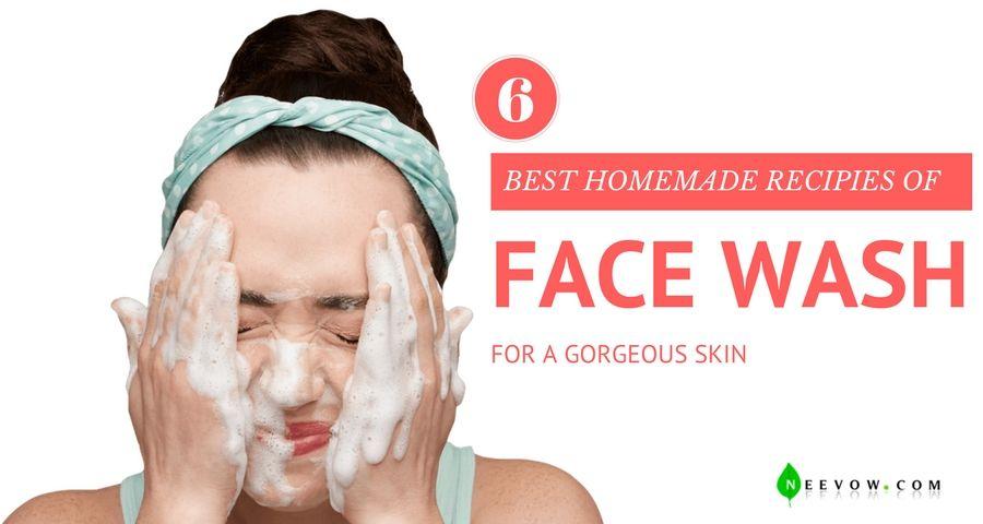 Homemade full face facials