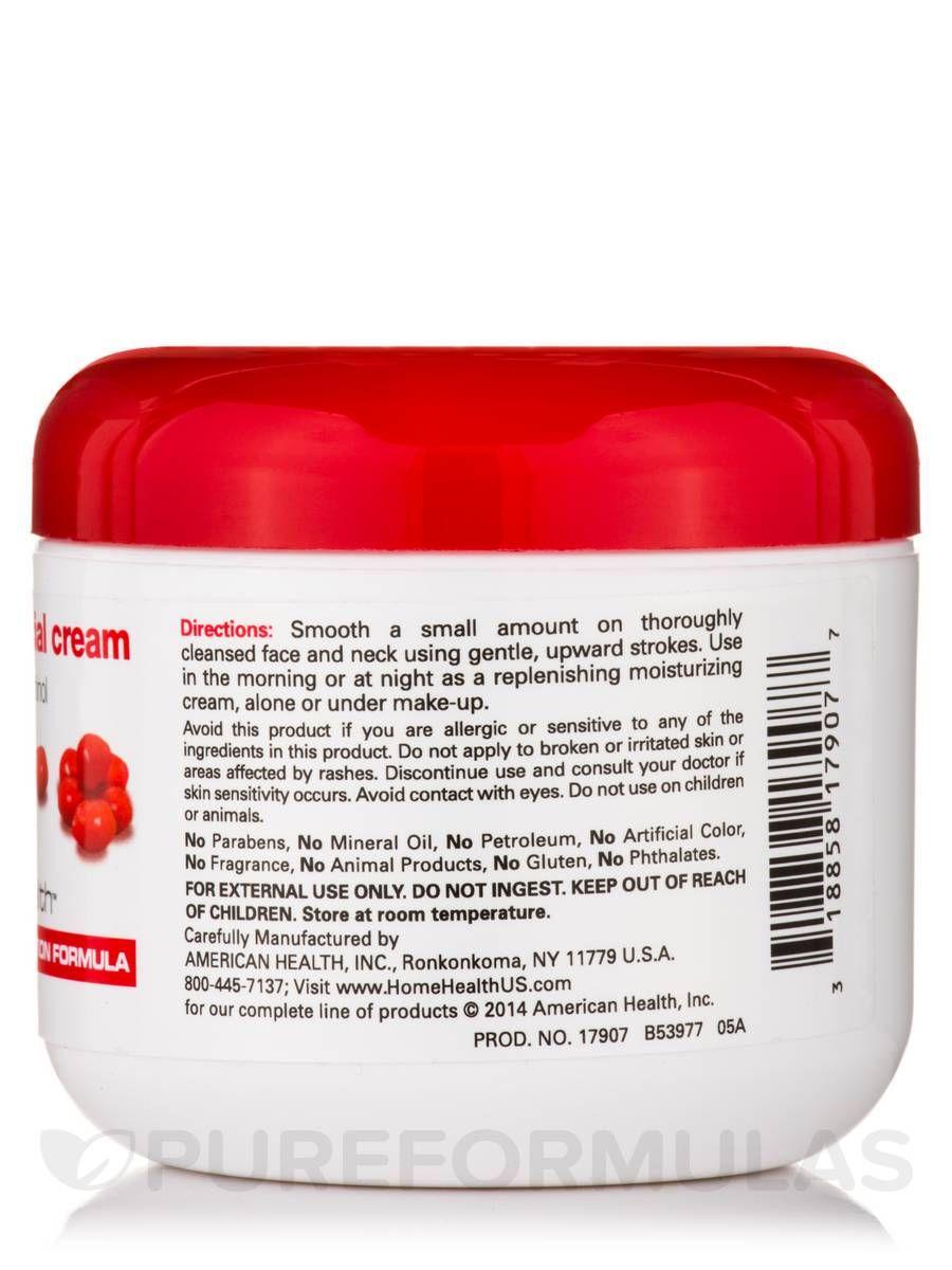 Berry facial cream