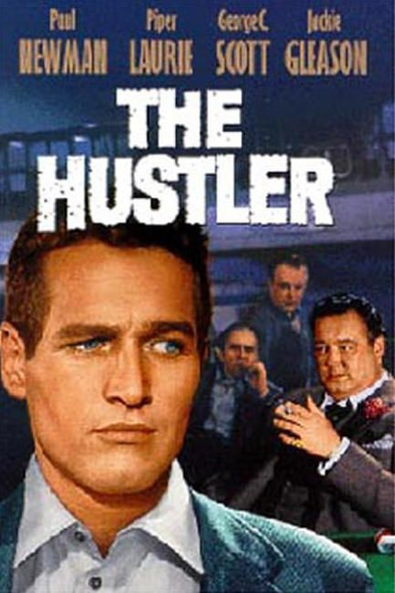The hustler poster art