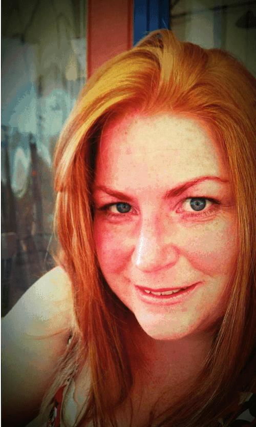 Real redhead minge